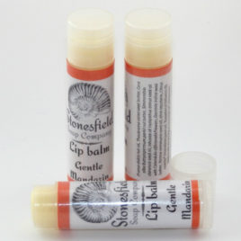 Lip balm tube – 'Gentle Mandarin'