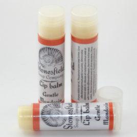Lip balm tube – 'Gentle Mandarin'