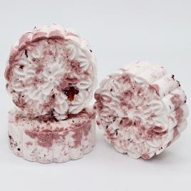 Bath bomb – 'Rosamunde', round